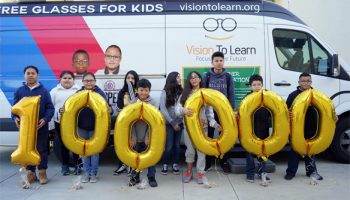 What a Milestone! 100,000 Kids get Glasses in California