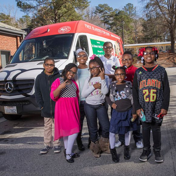 Vision to Learn visits Fickett Elementary