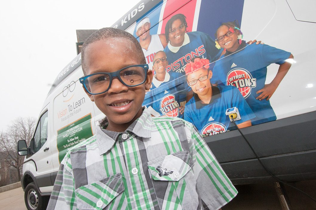 Detroit Pistons mobile clinic