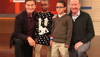 Dr. Oz Profiles Vision To Learn