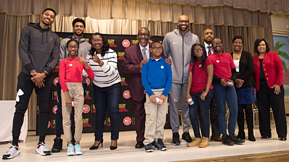 Atlanta Hawks & Vision to Learn Team Up to Help Kids