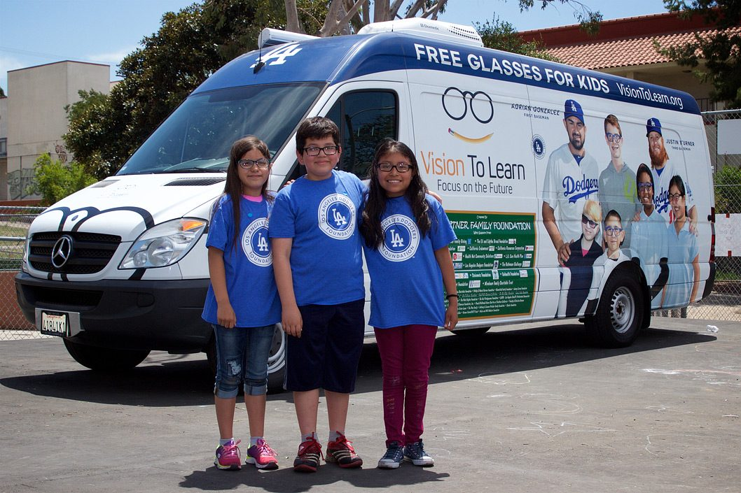 LA Dodgers mobile clinic