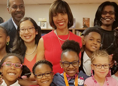 Vision To Learn Provides 1,000th Child With Free Glasses  in Baltimore