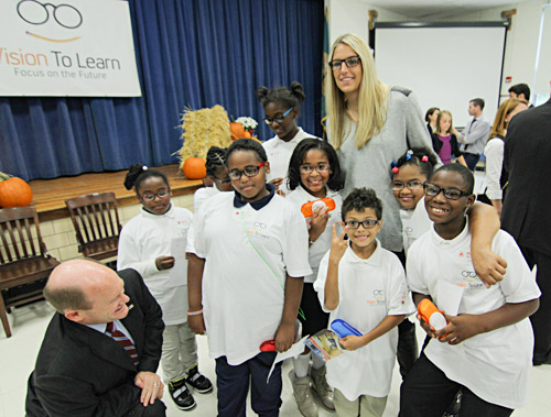 Delaware kids receive glasses from Vision To Learn