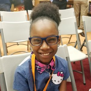 Baltimore student is all smiles with new glasses