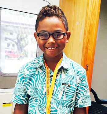 Children in Oahu see with new glasses from Vision To Lean