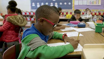 Children perform better in school when they have the glasses they need.