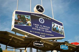 LA Dodgers Foundation is proud to support Vision To Learn