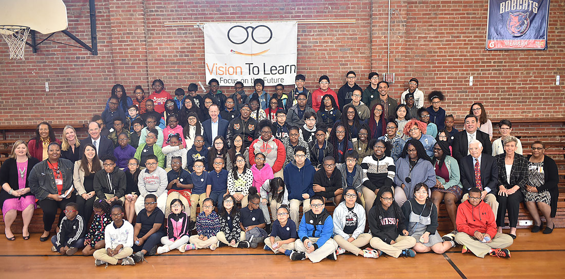 Vision To Learn launches in Charlotte, North Carolina at Thomasboro Academy