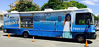 Project Vision Hawaii bus