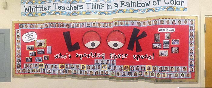 school bulletin board