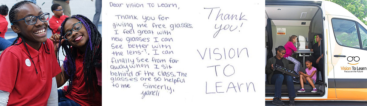 Thank you for supporting Vision To Learn on Giving Tuesday