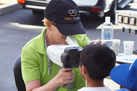 Vision Screenings for Kids