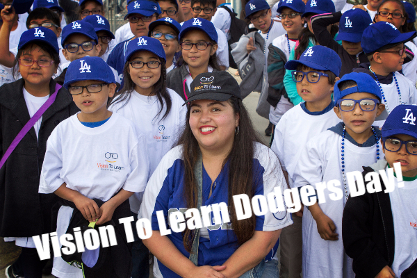 Vision to Learn Dodgers Day!